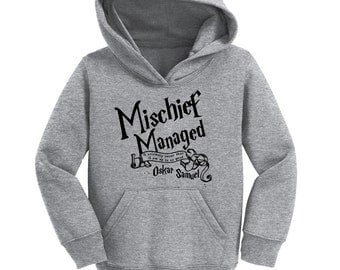 Mischief Managed Potter Hoodie with Custom Name