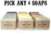 Stocking Stuffer Gift for Woman Mother or Man Father Natural Soaps Gift for Friend Christmas gifts for Under 30