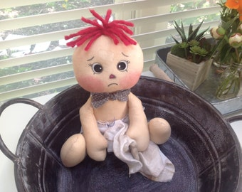 Primative rag doll, Oliver