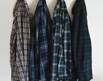 Vintage Oversize Flannel Shirt Distressed Flannels, Old Flannels, Plaid Shirt, Flannel Shirt, Plaid Flannel, Grunge Flannel, Hipster Flannel