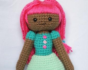 Bambi Ooak Crochet Doll Amigurumi
