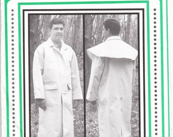 Eagle's View PM53 Cowboy Duster Sewing Pattern Size Med 36 - 38 to XXLarge 50 Optional Cape Western Coat Costume Events Uncut Factory Folds