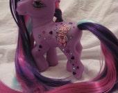 Violet Voodoo my little pony custom