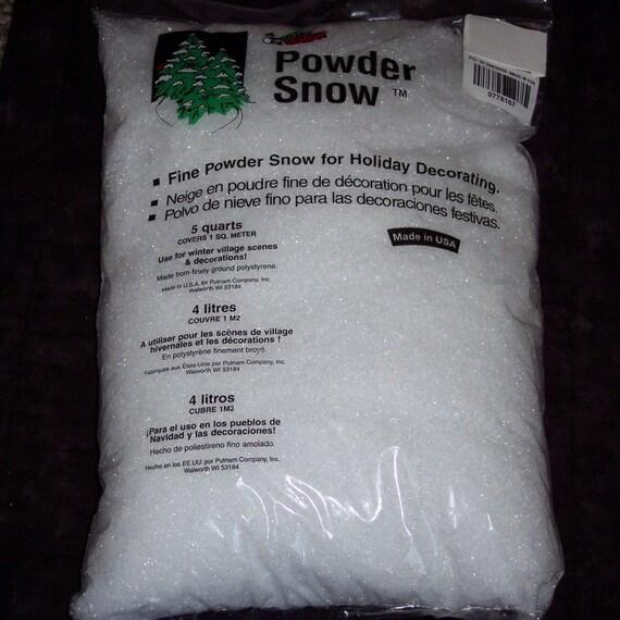 Extra fine artificial snow flakespowdered snowsoftsnow dry