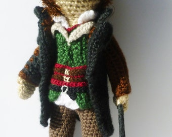 Assassin's Creed Syndicate INSPIRED Assassin Amigurumi Doll Jacob Frye