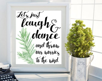 Word Art Home Decor