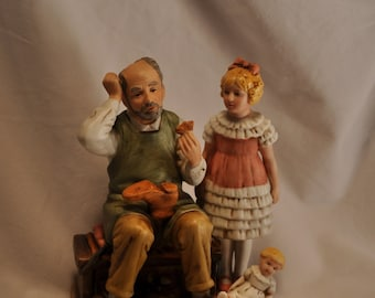 The shoemaker -The official Norman Rockwell Collection-1981-Annual figurine
