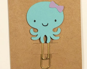 Octopus Planner Clip / Paper Clip