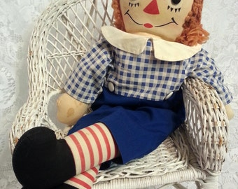 Early 1950's Georgene Raggedy Andy