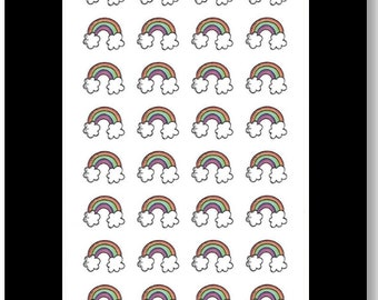 Rainbows || Stickers for Life Planner