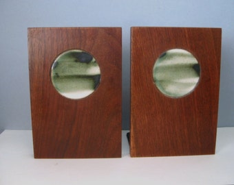 Midcentury Martz Marshall Studios Danish Modern Look Bookends