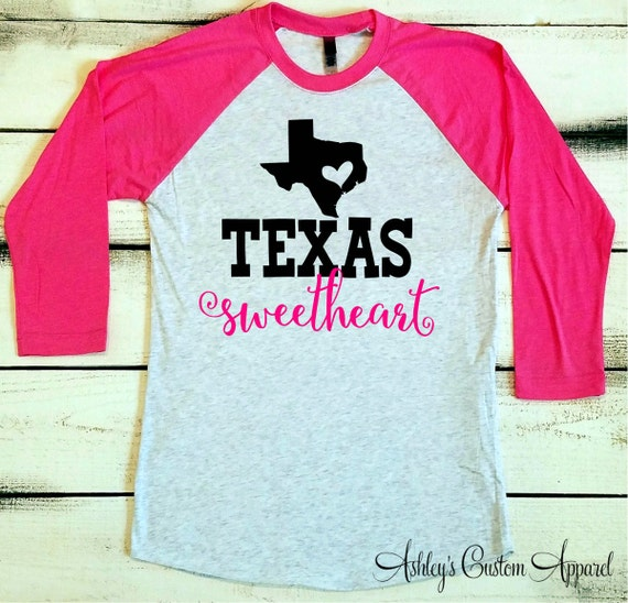 Texas shirt womens texas baseball tee texas girl shirt for Texas baseball t shirt