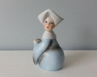 Vintage Nun Figurine Baseball Playing Nun Figurine