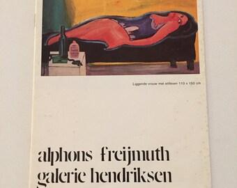 Alphons Freijmuth Hendriksen Gallery Amsterdam 1975