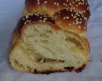 Montery Jack Filled Braided Bread