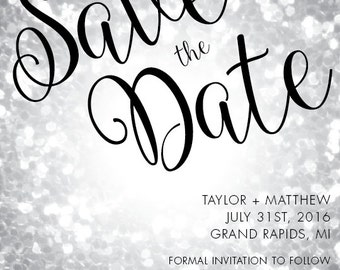 Save The Date Style #002
