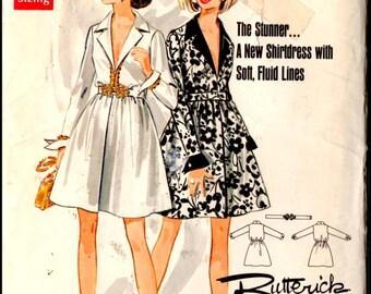 """Butterick Boutique 5423  Misses' One Piece Dress  Bust 36""""  UNCUT"""