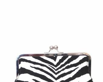 Clutch / Clutch Purse/ Clutch Bag / Purse / Bridal Clutch / Coctail Bag / Handbag / Evening Bag / Blacl and White