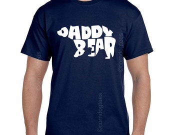 Daddy Bear Shirt, Dads First Christmas, Gifts for Daddy, Daddy Gift, Daddy Shirts, Daddy Tshirts, Gift for Daddy, Shirts for Dad, Christmas