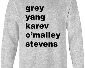 Grey's Anatomy Inspired Sweatshirt