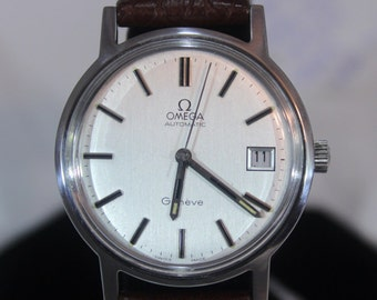 Vintage 1972 Mens Omega Automatic Geneve 24Jewels Watch