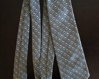 Wemlon by Wembley Vintage Wide Necktie Tie