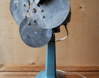 Large vintage fan, General electric fan, Industrial fan, Desk fan, Working order fan, Retro fan, Mid Century, Electric fan, Industrial fan