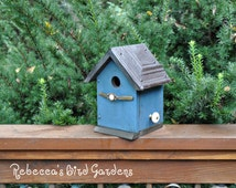 "Rustic Birdhouse ~ ""The Cabin"""
