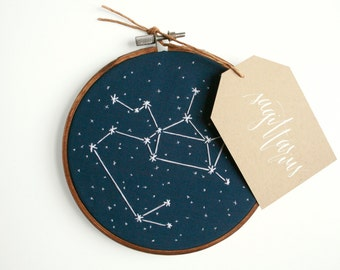 Astrological Constellation Embroidery