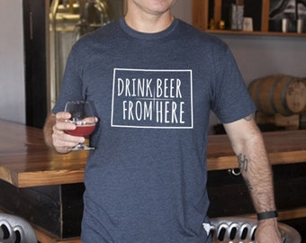 Craft Beer Colorado- CO- Drink Beer From Here Shirt