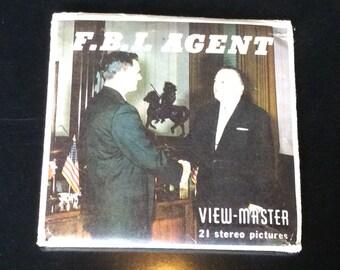 1950's View Master F.B.I. Agent