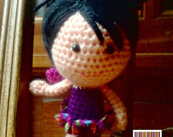 Amigurumi doll - Fairy - 'Trudy' - Crochet doll - Crocheted doll - Amigurumi Fairy doll - Crochet Fairy doll - Amigurumi Crochet doll