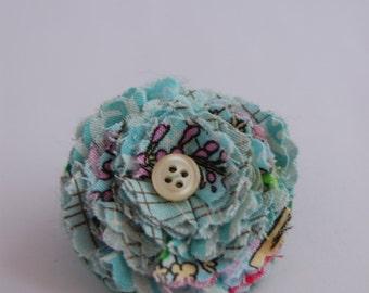 Folded Flower Brooch