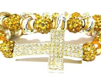 Cross Bracelet Set