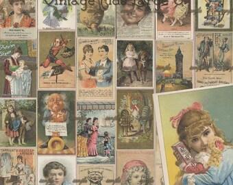 Vintage Ads Large 3 - Digital Scrapbooking Clipart Graphics Vintage Ads