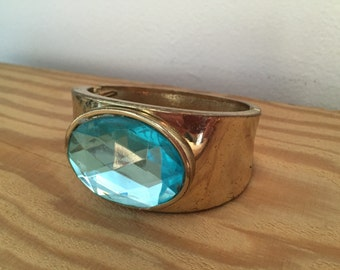 Aqua Jewel Bangle