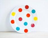 Illustrated ceramic dish or plate, Pottery plate, Pottery dish, Ceramic plates, Ceramics & pottery, Dinner plate, Ceramic dinnerware