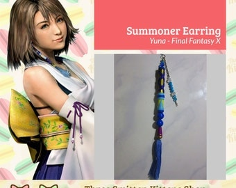 Final Fantasy X Yuna Braska Summoner Earring