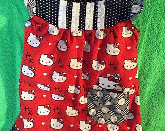 Hello Kitty - Black and Red