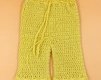 Crochet Baby Girl Pants