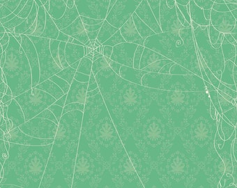 Witch Hazel Web by October Afternoon for Riley Blake Designs c3932 green