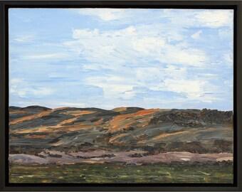 Sonoma Hills, Original Oil Painting
