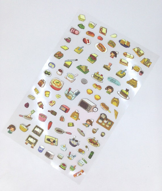 Cute Food Stickers Pretty Stickers Planner Stickers Cute