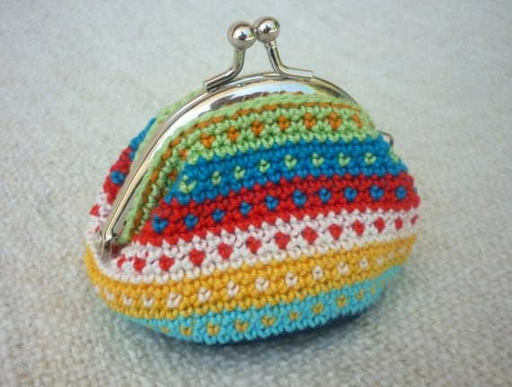 Tapestry Crochet Bag : Messenger Bags Pouches & Coin Purses Totes Wallets & Money Clips