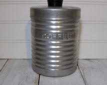 Nasco Italy Coffee Canister 1950 Vintage