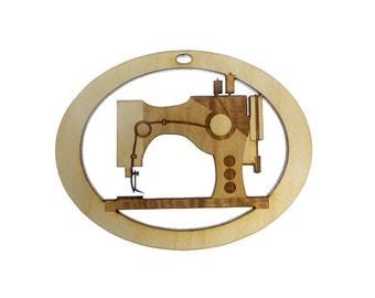 Sewing Machine Ornament - Sewing Machine Gift - Seamstress Ornament -  Gift for Seamstress - Seamstress Gifts - Personalized Free