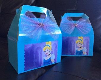 Disney Princess Cinderella Birthday favor Box