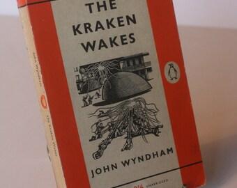 The Kraken Wakes John Wyndham Penguin Paperback Book 1961 Classic Vintage Books