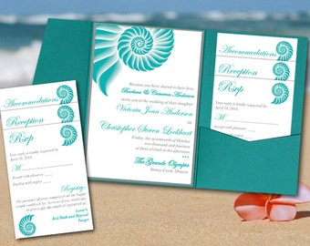 love bird pocketfold wedding invitation template set
