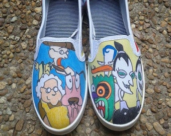 Courage the Cowardly Dog Shoes